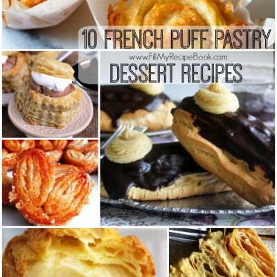 10 French Puff Pastry Dessert Recipes