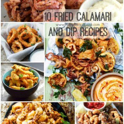 10 Fried Calamari and Dip Recipes