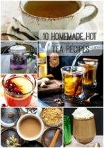 10 Homemade Hot Tea Recipes