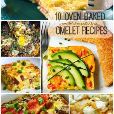 10 Oven Baked Omelet Recipes