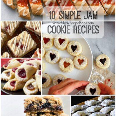 10 Simple Jam Cookie Recipes