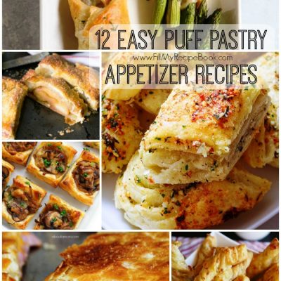 12 Easy Puff Pastry Appetizer Recipes