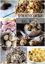 12 Healthy Energy Ball Recipes