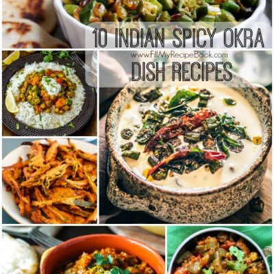 10 Indian Spicy Okra Dish Recipes