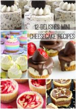 12 Delishes Mini Cheesecake Recipes