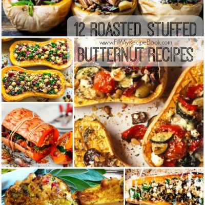 12 Roasted Stuffed Butternut Recipes