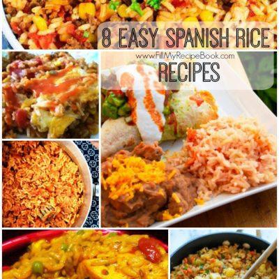 8 Easy Spanish Rice Recipes