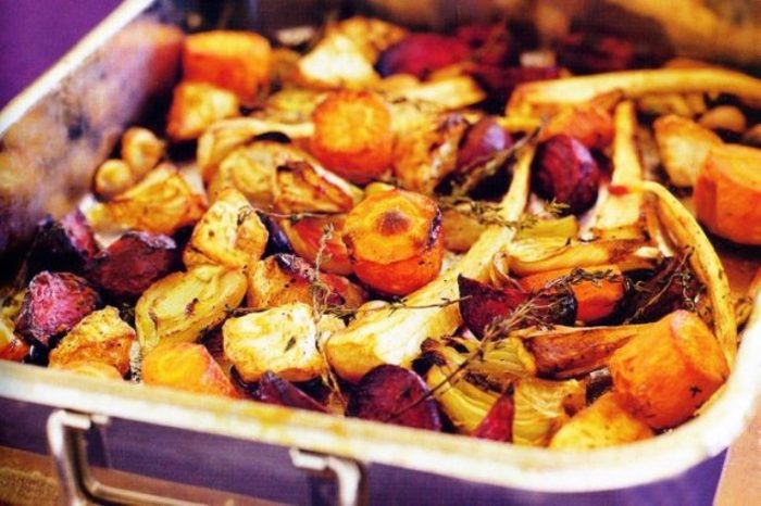 Roasted-root-vegetables-fennel-garlic-thyme