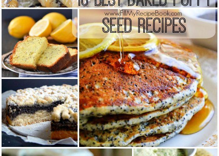 10 Best Baked Poppy Seed Recipes