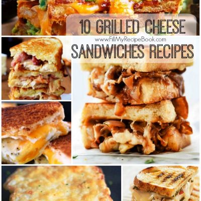 10 Grilled Cheese Sandwiches Recipes