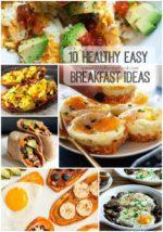 10 Healthy Easy Breakfast Ideas