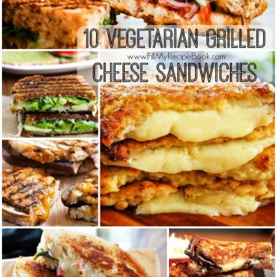 10 Vegetarian Grilled Cheese Sandwiches