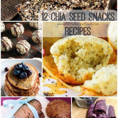 12 Chia Seed Snacks Recipes