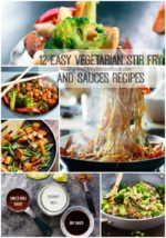 12 Easy Vegetarian Stir Fry and Sauces Recipes