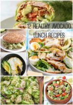 12 Healthy Avocado lunch Recipes