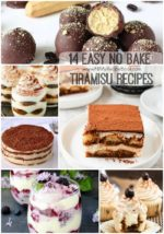 14 Easy no Bake Tiramisu Recipes