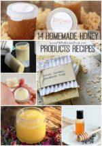 14 Homemade Honey Products Recipes