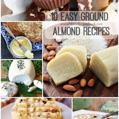 10 Easy Ground Almond Recipes