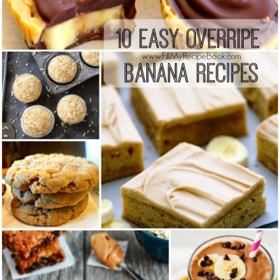 10 Easy Overripe Banana Recipes