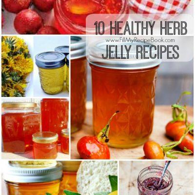 10 Healthy Herb Jelly Recipes