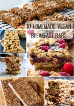 10 Homemade Vegan Breakfast Bars