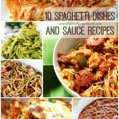 10 Spaghetti Dishes and Sauce Recipes