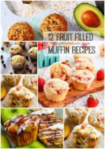 12 Fruit Filled Muffin Recipes
