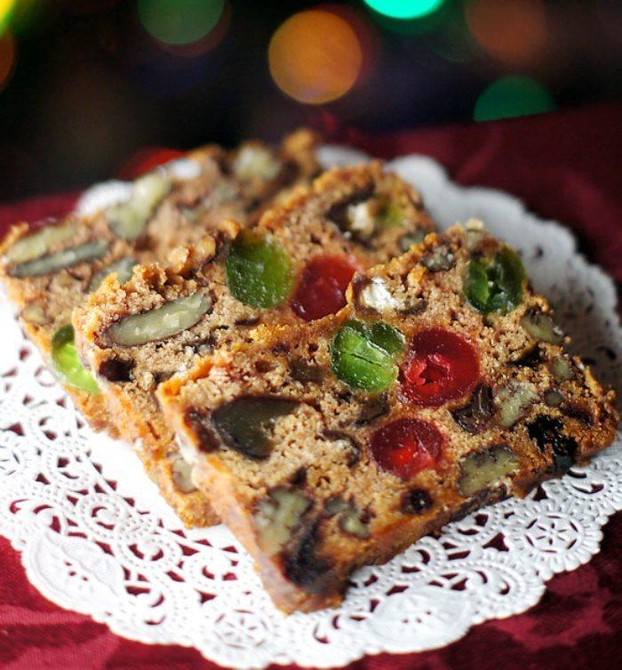 Apple fruit-cake