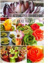 10 Attractive Garnishing Ideas Recipes