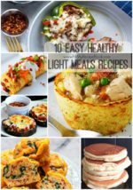 10 Easy Healthy Light Meals Recipes