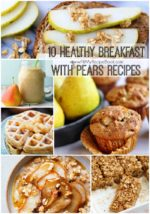 10 Healthy Breakfast with Pears Recipes
