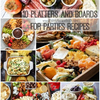 10 Platters and Boards for Parties Recipes
