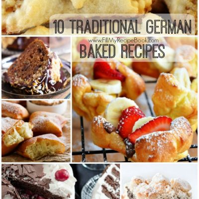 10 Traditional German Baked Recipes