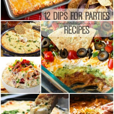 12 Dips for Parties Recipes