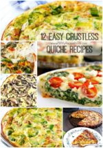 12 Easy Crustless Quiche Recipes