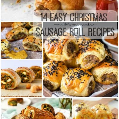 14 Easy Christmas Sausage Roll Recipes