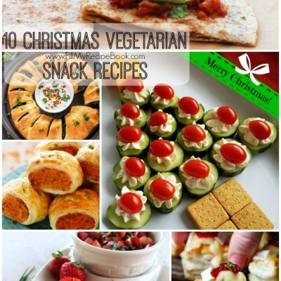 10 Christmas Vegetarian Snack Recipes