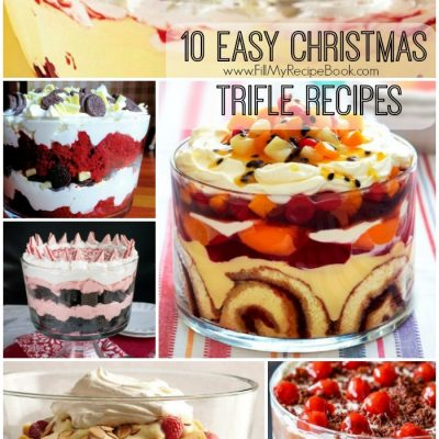 10 Easy Christmas Trifle Recipes