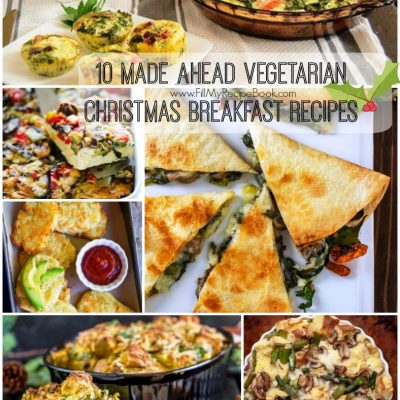 10 Made Ahead Vegetarian Christmas Breakfast Recipes