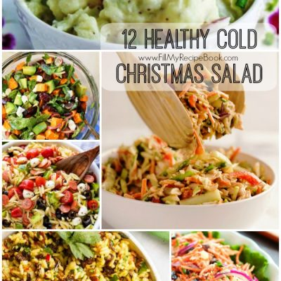 12 Healthy Cold Christmas Salads Recipes