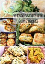10 Easy Savoury Herb Scone Recipes