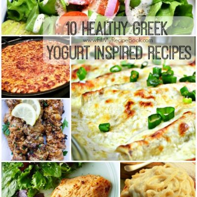 10 Healthy Greek Yogurt Inspired Recipes