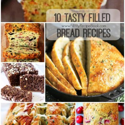 10 Tasty Filled Bread Recipes