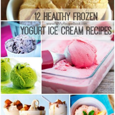 12 Healthy Frozen Yogurt Ice Cream Recipes