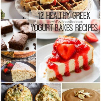 12 Healthy Greek Yogurt Bakes Recipes