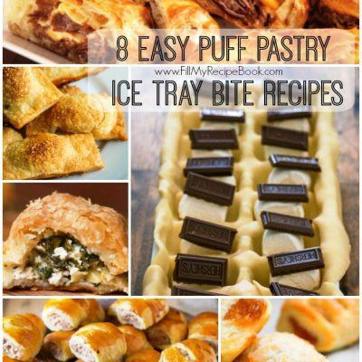8 Easy Puff Pastry Ice Tray Bite Recipes