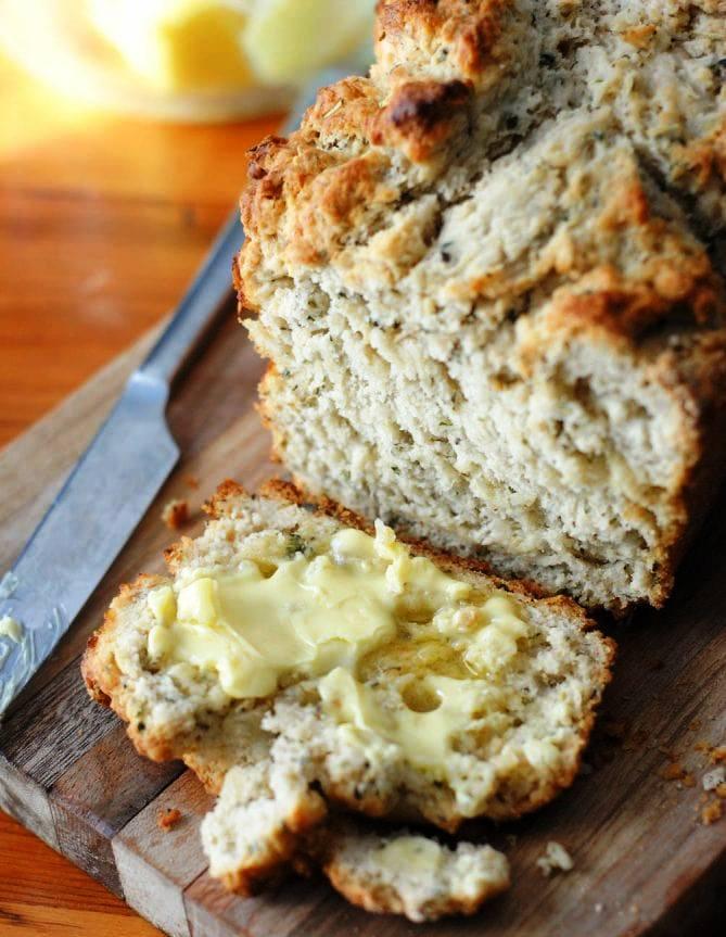 Herbed-beer-bread