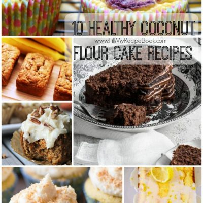 10 Healthy Coconut Flour Cake Recipes