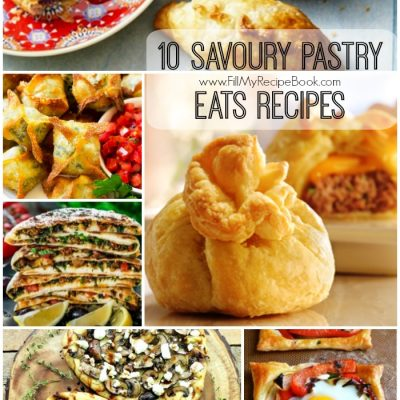 10 Savoury Pastry Eats Recipes