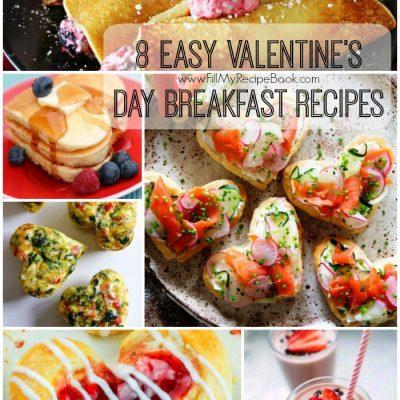 8 Easy Valentine's Day Breakfast Recipes